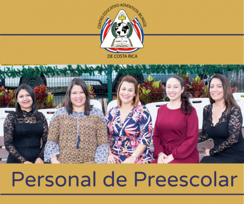 Personal Preescolar